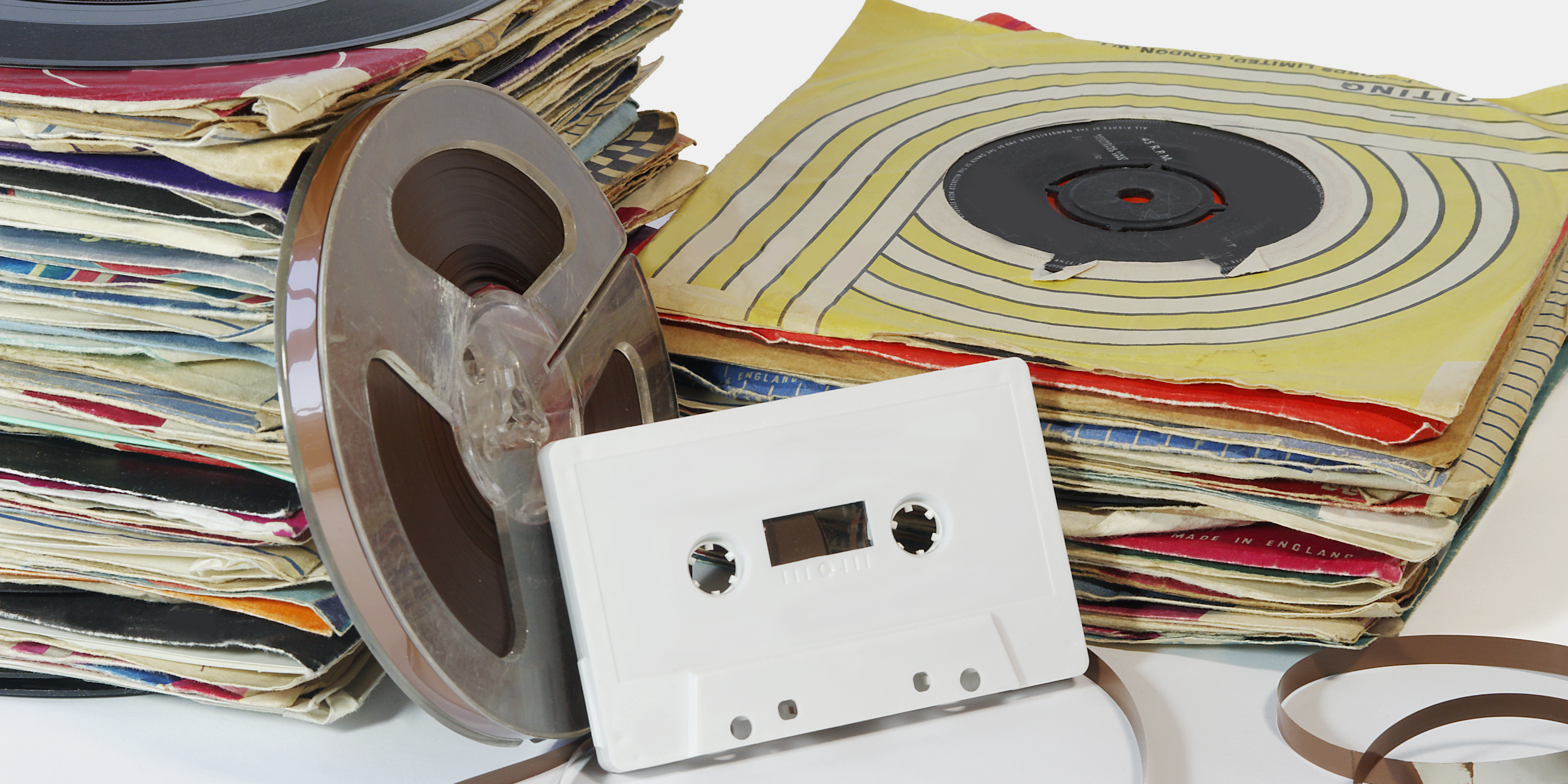 Transfer audio tapes, cassettes and vinyl records to Compact Disc (CD) and digital files at Milwaukee Media Duplication.